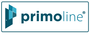 primoline upvc prime quality door and window logo